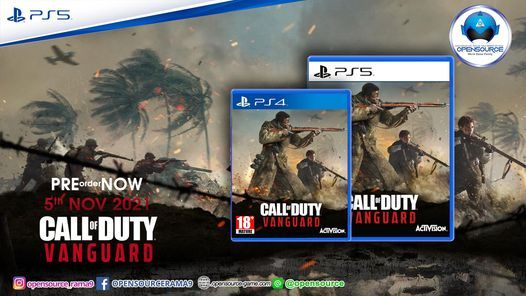 Call of Duty®: Vanguard (ASIA EN/CH/KR) - PS4 & PS5, 5 November | Event in Bangkok | AllEvents.in