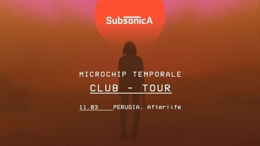 Subsonica - Microchip Temporal Club Tour - Perugia, 11 March | Event in Perugia | AllEvents.in