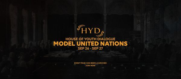 HYDMUN 2021, 26 September   Event in Dhaka   AllEvents.in