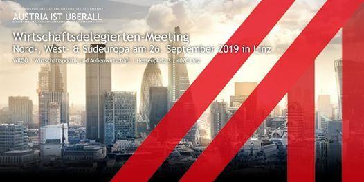 Wirtschaftsdelegierten Meeting Nord- West- und Sdeuropa