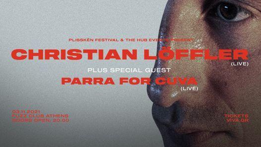 Christian Löffler live in Athens, 3 November | Event in Távros | AllEvents.in