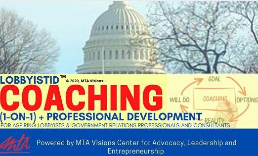 Lobbyist ID COACHING (1-on-1)  Professional Development