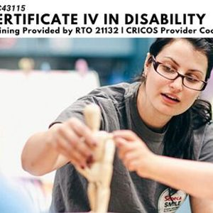 Study a Certificate IV in Disability in Wodonga.