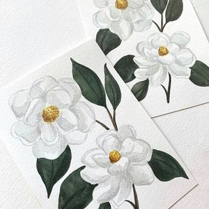 Magnolia Waterolor Workshop