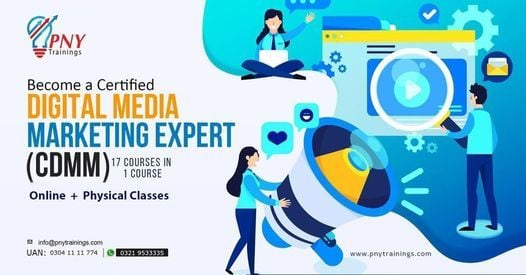Become a Certified Digital Media Marketing Expert | Event in Lahore | AllEvents.in