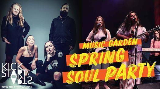 Music Garden Spring Soul Party