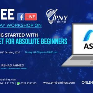 Free One Day Workshop on Asp.Net for Absolute Beginners