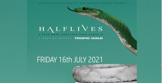 HALFLIVES + support, 16 July | Event in Peterborough | AllEvents.in
