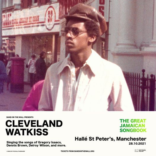 Cleveland Watkiss presents The Great Jamaican Songbook live at Hallé St. Peter's, Manchester, 28 October