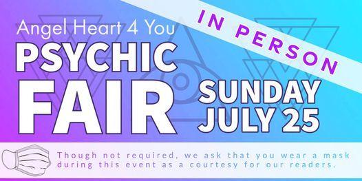 IN PERSON Psychic Fair   Event in Benicia   AllEvents.in