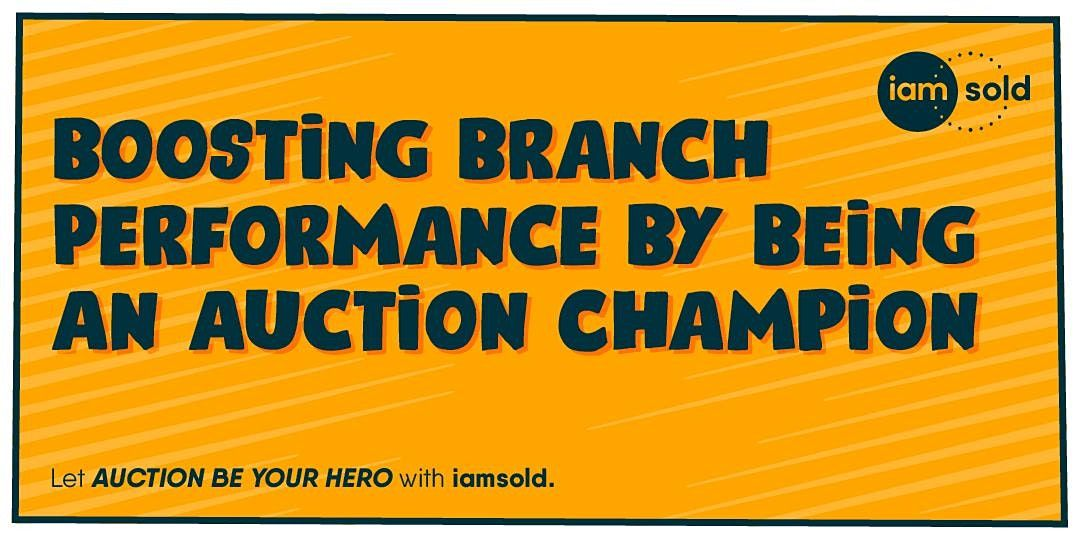 Boosting Branch Performance by Being an Auction Champion | Online Event | AllEvents.in