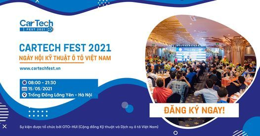 CARTECH FEST 2021 – NGÀY HỘI KỸ THUẬT Ô TÔ VIỆT NAM, 4 July | Event in Hanoi | AllEvents.in
