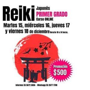Primer grado de Reiki Japons.