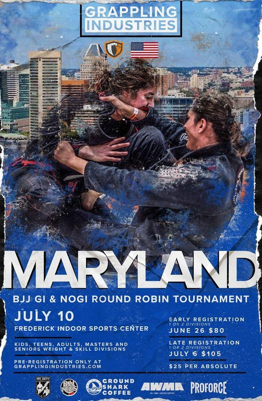 Grappling Industries Maryland, 10 July | Event in Frederick | AllEvents.in