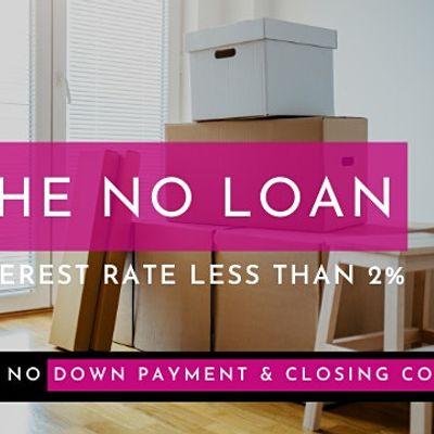 No Down Payment No Closing Cost No Minimum Credit Score