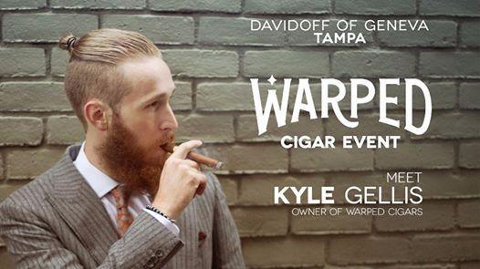 Warped Cigars Event - Davidoff Tampa at Davidoff of Geneva