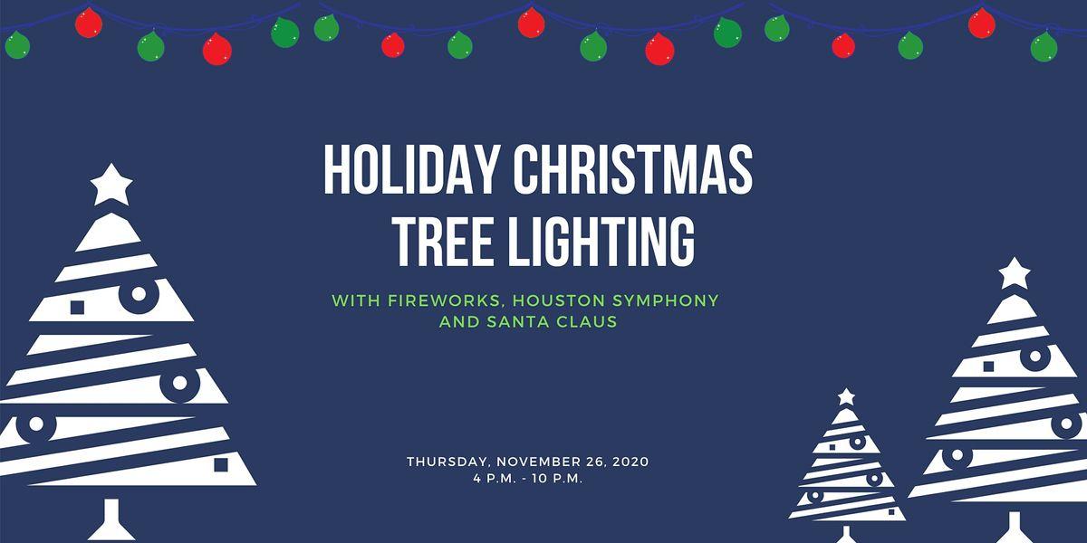 Houston Galleria Christmas Tree Lighting 2020 Thanksgiving Evening   Holiday Tree Lighting at the Hilton Hotel