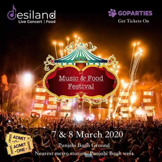 Desiland : Music & Food Festival, 30 December   Event in New Delhi   AllEvents.in