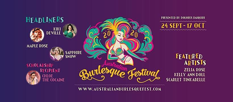 The Australian Burlesque Festival 2020 - Adelaide Workshops