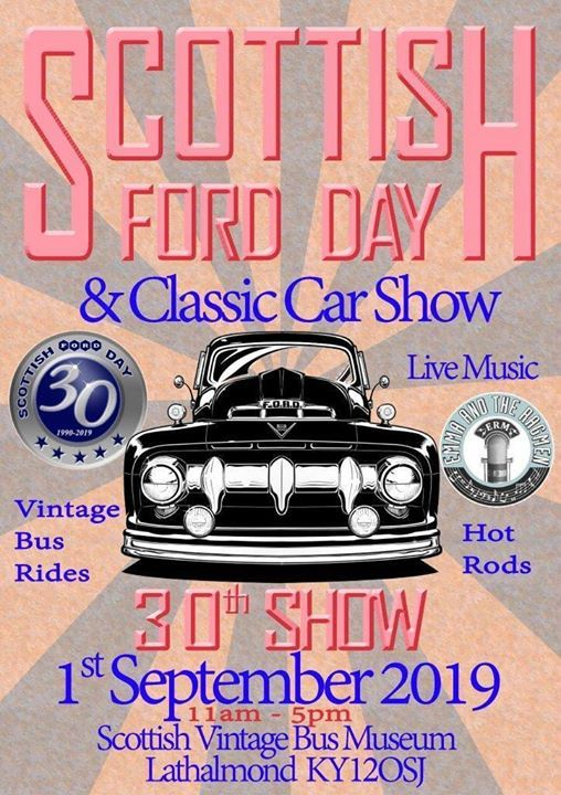 Scottish Ford Day and Classic Car Show