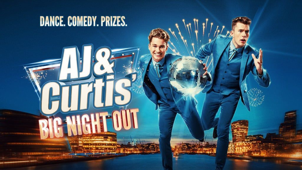 AJ and Curtis' Big Night Out, 5 October   Event in Ipswich   AllEvents.in