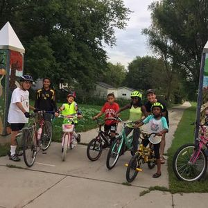 Neighborhood Leisure Bike Ride