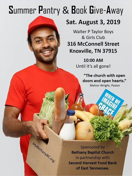 Summer Food Pantry & Book Give-Away at 317 McConnell St SE