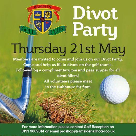 Ramside Golf Club Divot Party