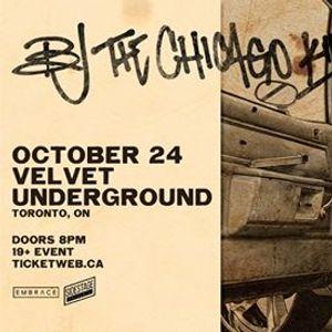 BJ The Chicago Kid at Velvet Underground  Oct 24