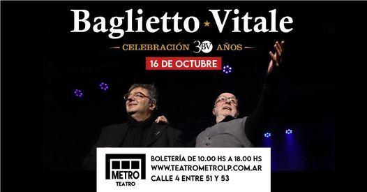 Baglietto - Vitale, 16 October   Event in La Plata   AllEvents.in
