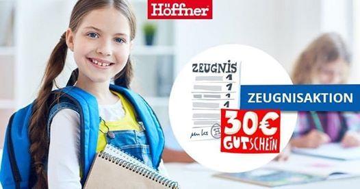 Zeugnisaktion Bei Hoffner Mobel Hoffner Neuss 26 June To 27 June