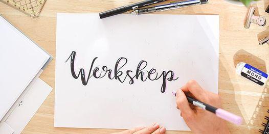 Workshop Handlettering Brushlettering  Basic  Bensheim Lettering  DIY