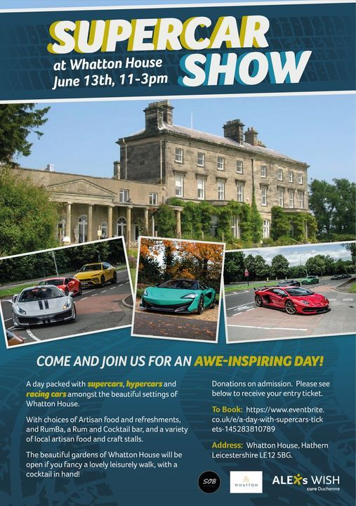 Summit Racing Christmas Car Show 2021 Super Car Show At Whatton House Trouver Des Billets Loughborough June 13 2021 Allevents In