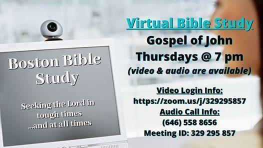 Virtual Bible Study - Gospel of John