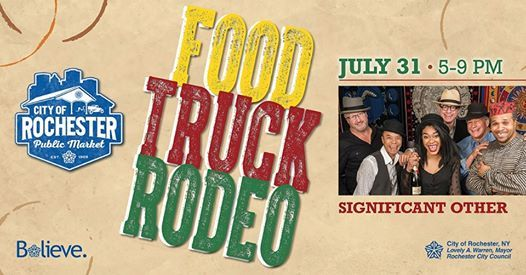 Food Truck Rodeo July 2019 At City Of Rochester Public
