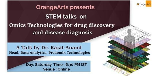Omics technologies for drug discovery and disease diagnosis   Event in Faridabad   AllEvents.in
