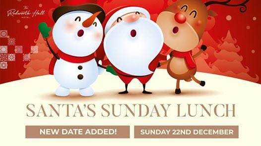 Santa Sunday Disco at Redworth Hall