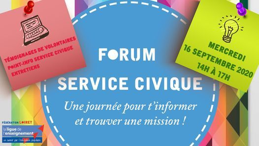 FORUM Service Civique 2020