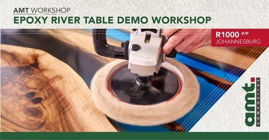 JHB EPOXY River Table Demo Workshop, 19 June | Event in Kempton Park | AllEvents.in