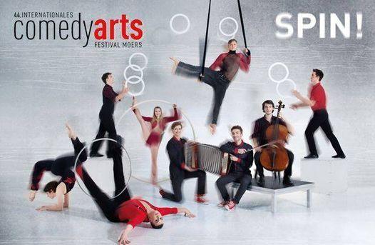 SPIN! - Der ComedyArts-Sonntag für die ganze Familie!, 19 September | Event in Moers | AllEvents.in