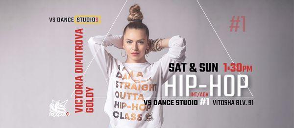 HIP-HOP с Виктория Димитрова Goldy   VS DANCE STUDIO #1, 5 December   Event in Kyustendil