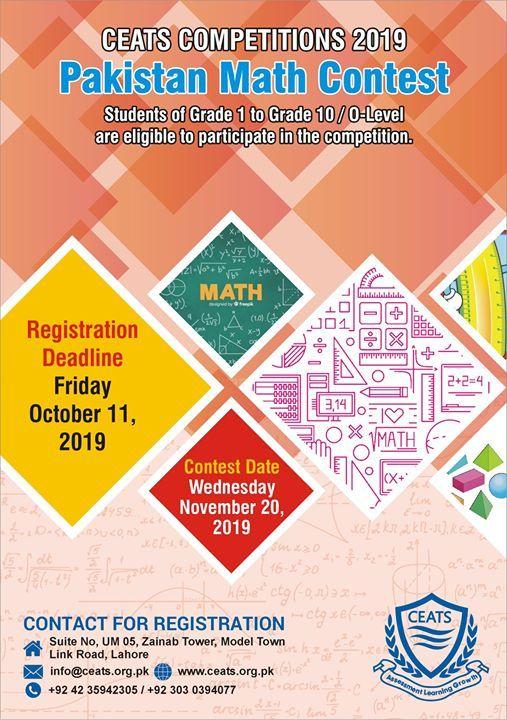 Makistan Math Contest 2019