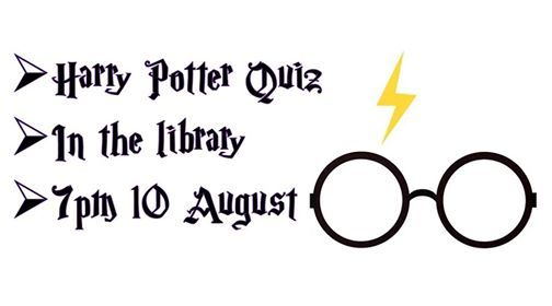 Harry Potter Quiz Night at Friends of Greenhill Library, Sheffield