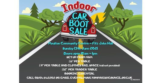 Indoor Car Boot Sale  - 13th June 2021 | Event in Northampton | AllEvents.in