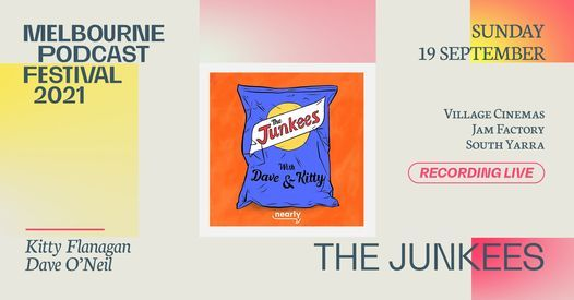 The Junkees at Melbourne Podcast Festival, 19 September | Event in South Yarra | AllEvents.in