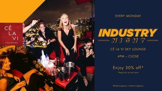 Service Industry Mondays | Event in Singapore | AllEvents.in