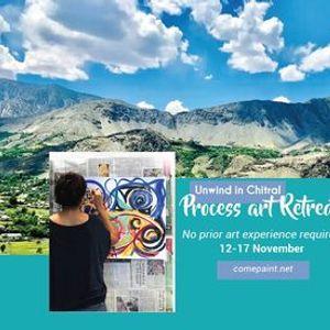 Process art workshop retreat