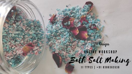 Bath Salt Making workshop (INR) | Online Event | AllEvents.in
