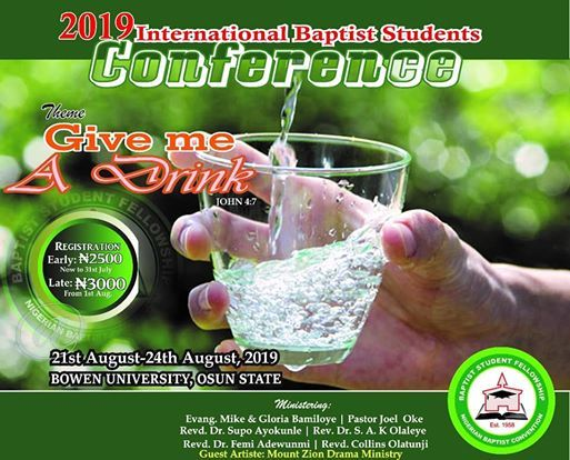 2019 International Student Conference.