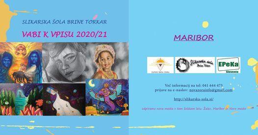 SLIKARSKA ŠOLA Brina Torkar, 12 April   Event in Maribor   AllEvents.in